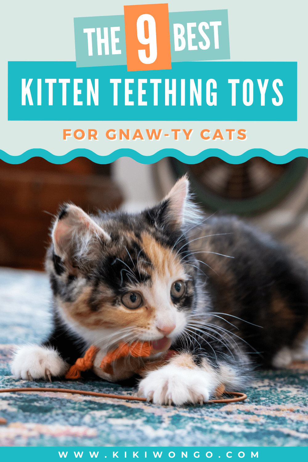 The 9 Best Kitten Teething Toys For Gnaw Ty Cats In 2020 Kitten Teething Toys Kitten Care Teething Toys
