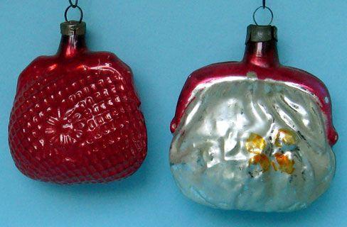Glass Christmas Ornaments Clocks Vintage Christmas Pinterest