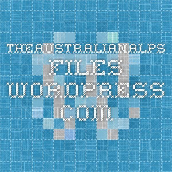 theaustralianalps.files.wordpress.com aboriginal people and the australian alps
