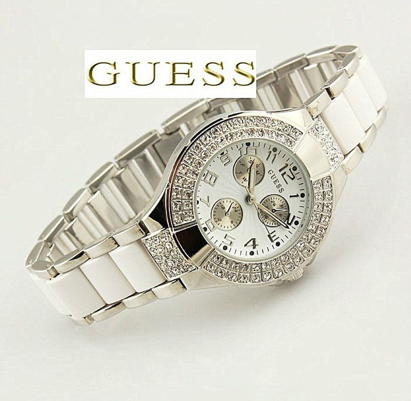 Guess 14503l1 montre femme quartz chronographe prism - Reparation telephone brive ...