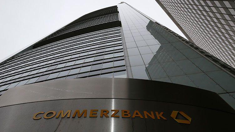 EE.UU. multa con 1.000 millones de dólares a Commerzbank