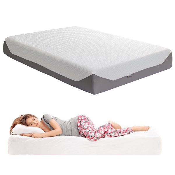 Corliving Memory Foam Mattress Medium Firm 10 In Double Full Sgh 717 D Rona Products In 2019 Foam Mattress Queen Memory Foam Mattress Mattress