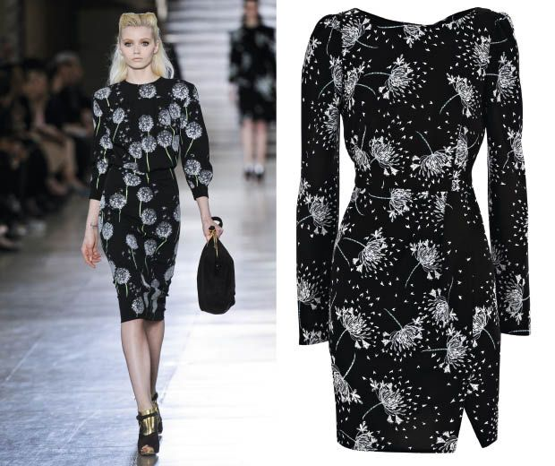 Snap up this amazing high-street dress from Warehouse's autumn/winter 2011 fashion collection and get the designer look as seen at Miu Miu.