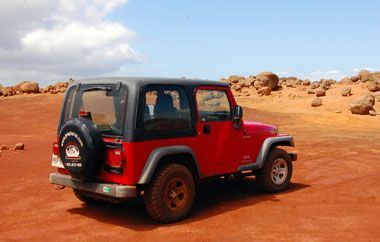 Jeep Rentals and Off-road Exploration in Lanai, Hawaii | Hawaii and