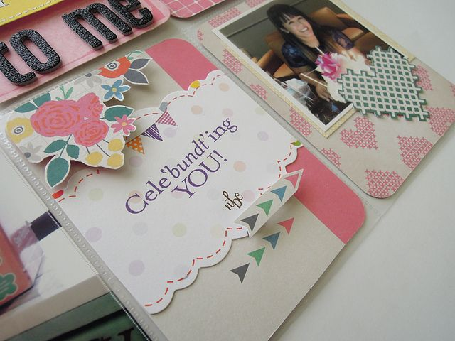 Amy Tangerine's Cut and Paste Pages by Project Life Design Team Member April Joy Hill