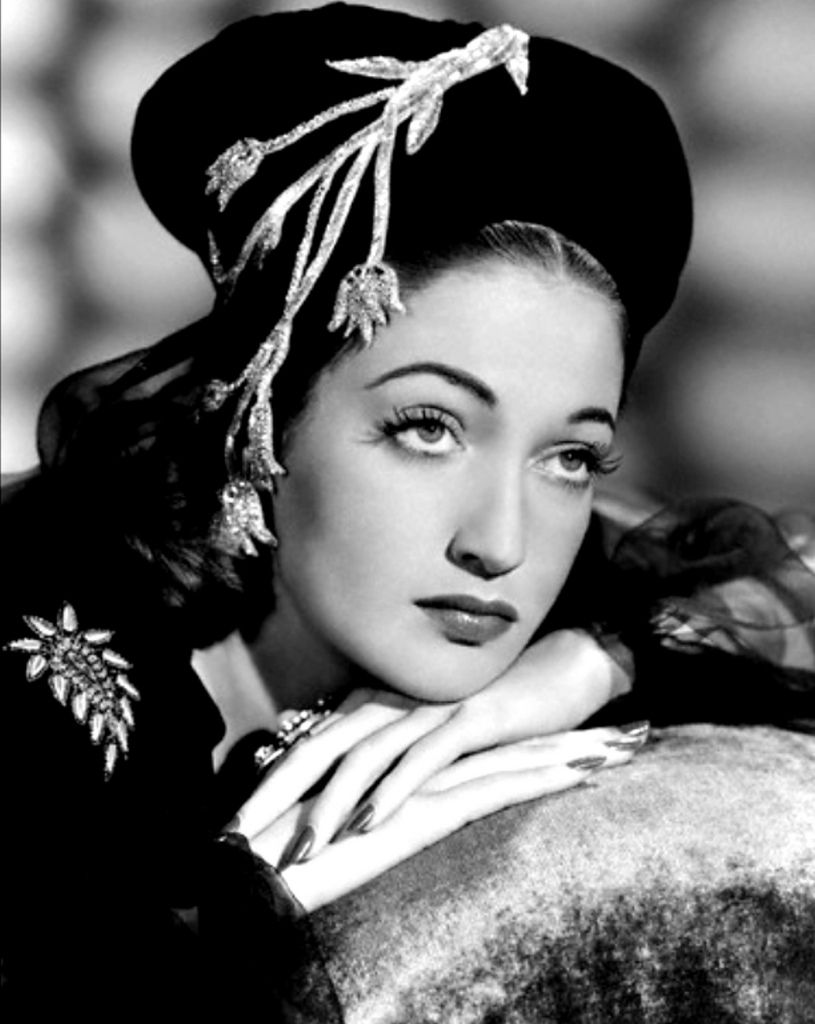 Cathy would like Old Hollywood Movie Stars such as Dorothy Lamour because they seem to have a lot of elegance and she seems like she would find a role model in someone like her