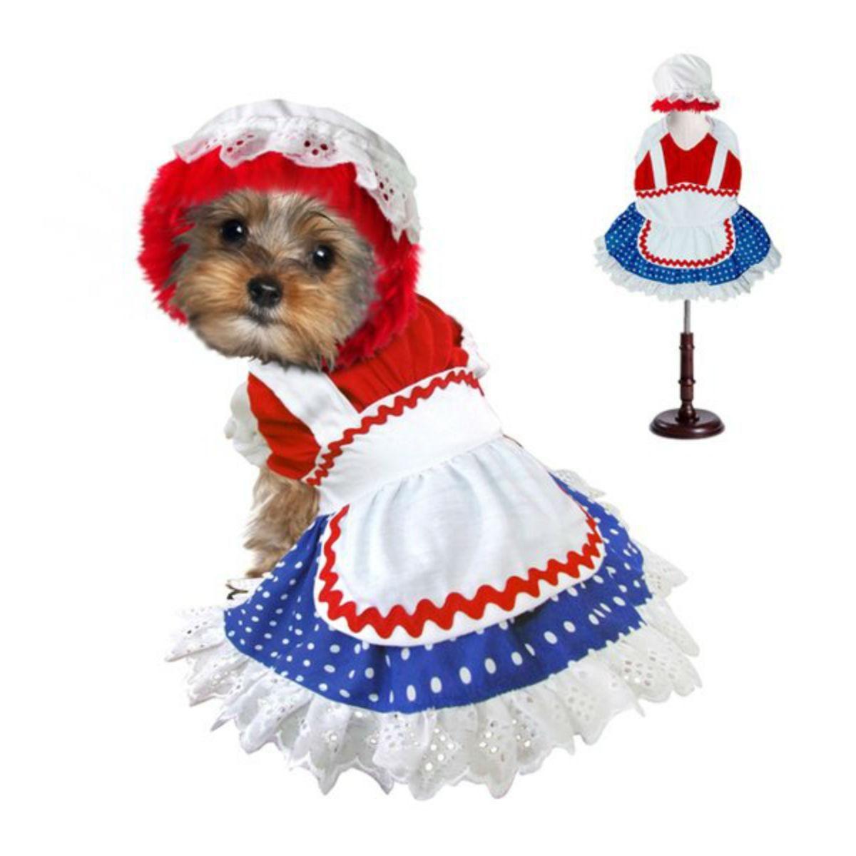 Ragdoll Halloween Dog Costume Girl Dog Halloween Costumes Girl And Dog Girl Dog Costumes