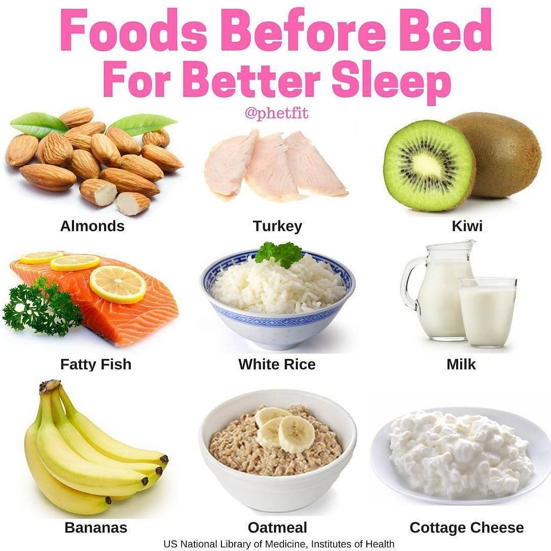The 9 Best Foods To Eat Before Bed Almond Almonds Are A Source