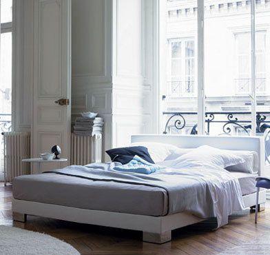 Ligne Roset Anna Bed Designed By Christian Werner In Grey Beautiful Bedrooms Home Decor Modern Bedroom