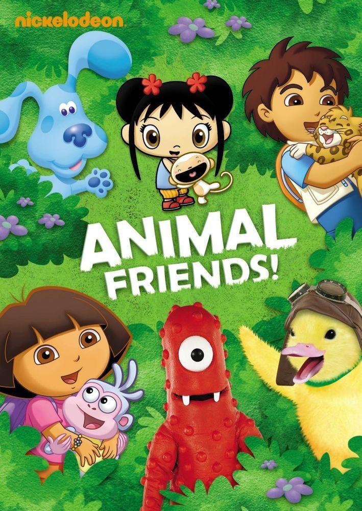 Nickelodeon Nick Jr Animal Friends Dvd New Sealed 2009 Dora Diego Wonder Pet Animals Friends Wonder Pets Dora And Friends