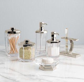 Strande Bathroom Accessories From Restoration Hardware Art Deco