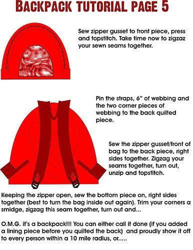 Backpack Tutorial « Artisania