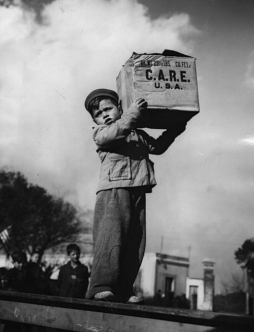 C.A.R.E Package 1948 Photo: International News Photo