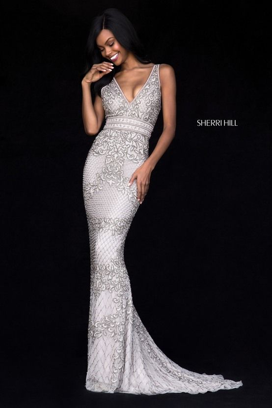 special detialed evening dress