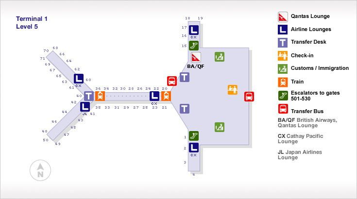 Hong Kong International Airport Terminal 1 Map Hong Kong International Airport Terminal 1 Map | Hong Kong