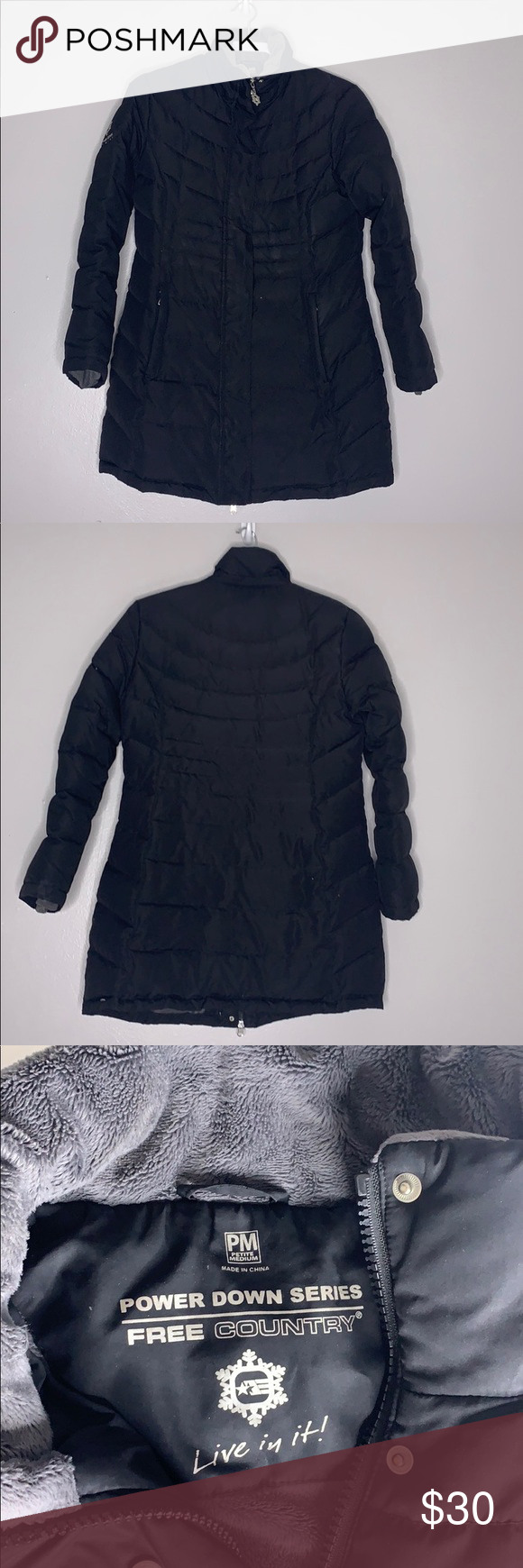 Avenue Petite Black Elongated Puffer Jacket Fleece Avenue Power Down Series Free County Live In Long Black Jacket Coats Jackets Women Black Quilted Jacket [ 1740 x 580 Pixel ]
