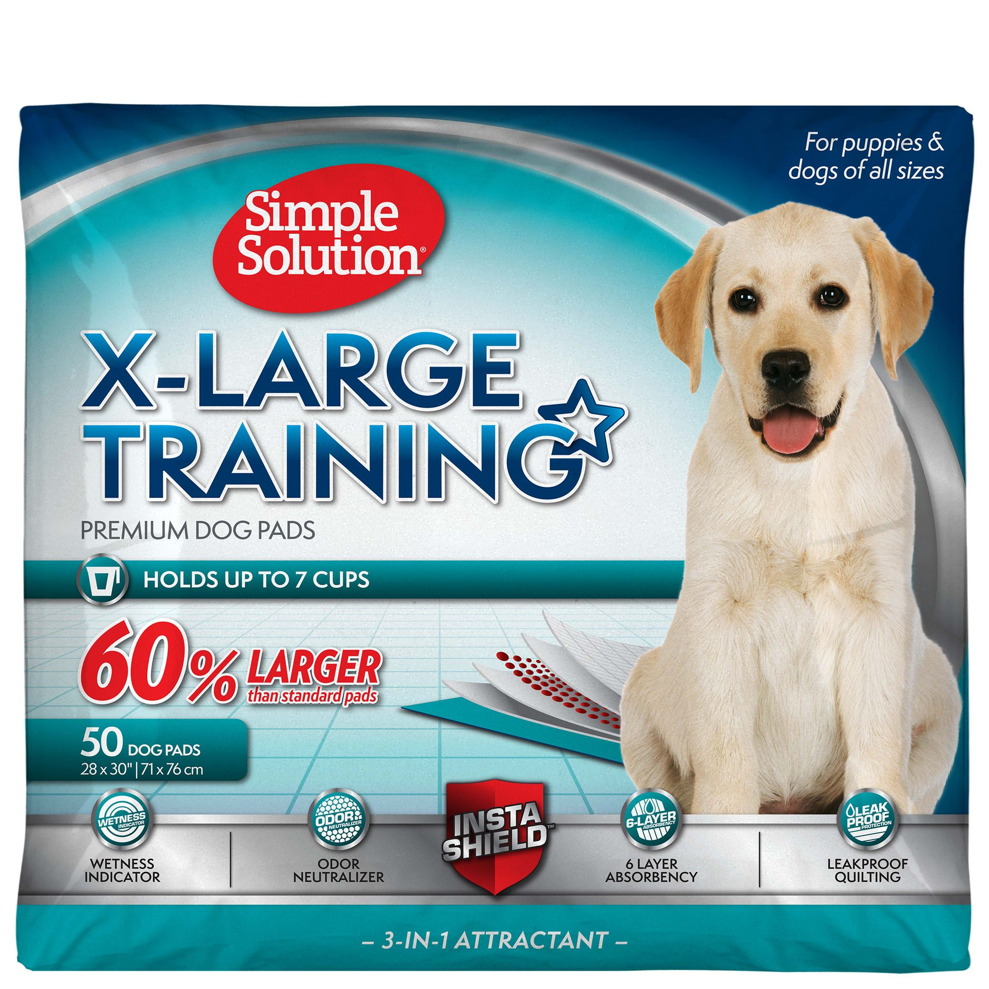 Simple Solution Extra Large Dog Training Pads Count Of 50 In 2020