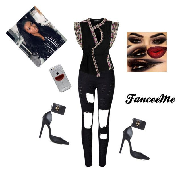 """Razzle Dazzle"" by fanceeme on Polyvore featuring WithChic, Isabel Marant and Reyes"
