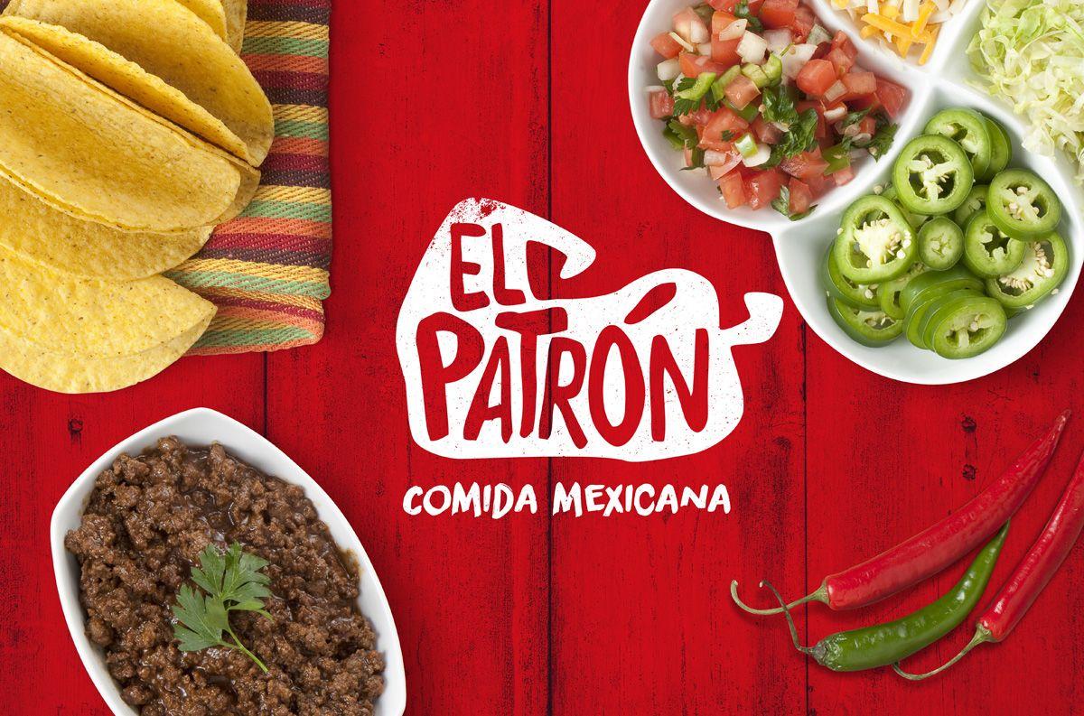 Consultez Ce Projet Behance U201cel Patrón Branding Food Truck U201d Https Www Behance Ne Logos De Comida Restaurante Comida Mexicana Comida Mexicana