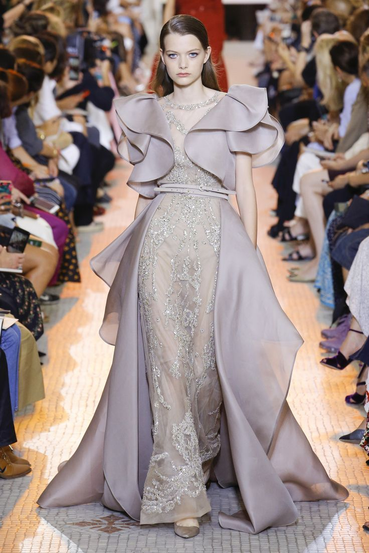 7290a92050a Elie Saab Fall 2018 Couture Fashion Show in 2019