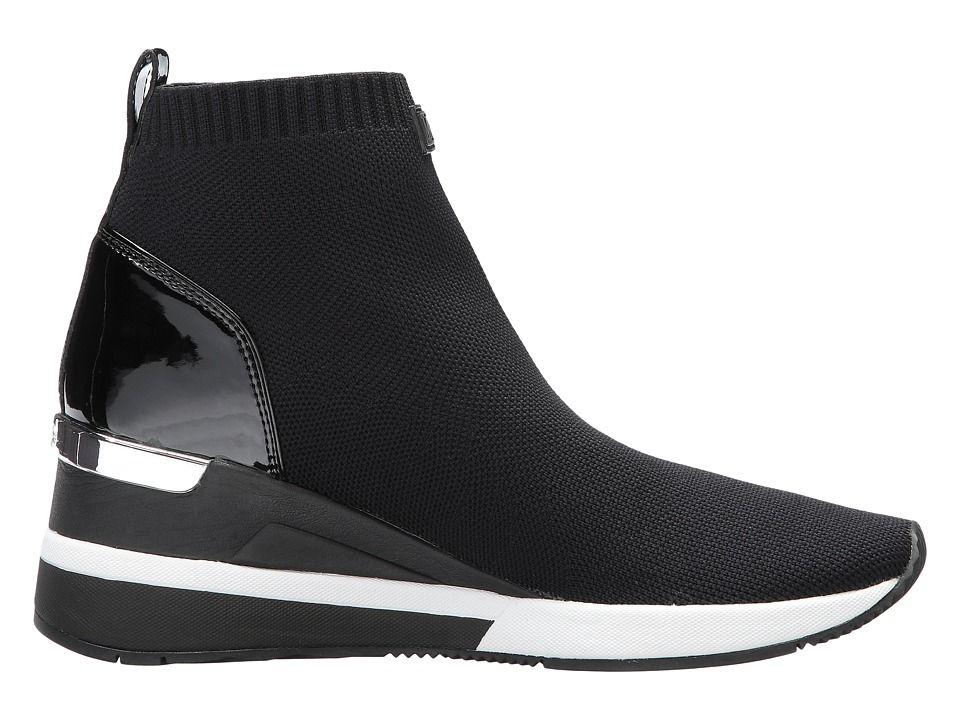 MICHAEL Michael Kors Skyler Bootie Women's Boots Black Soft