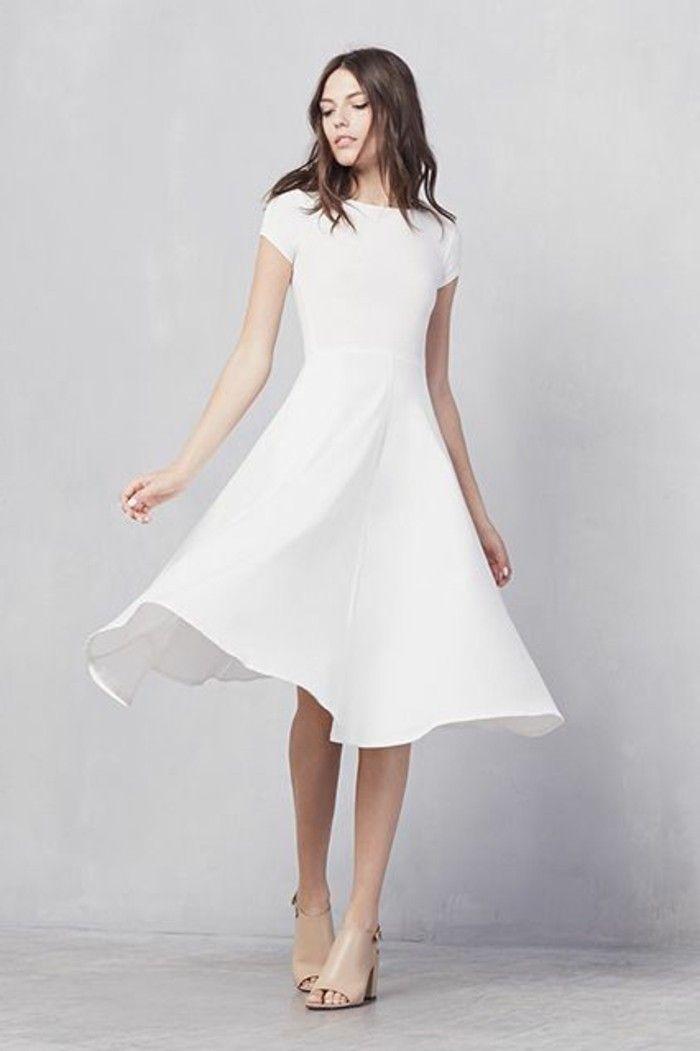105 verblüffende Ideen für weißes Kleid! | Tolle kleider ...