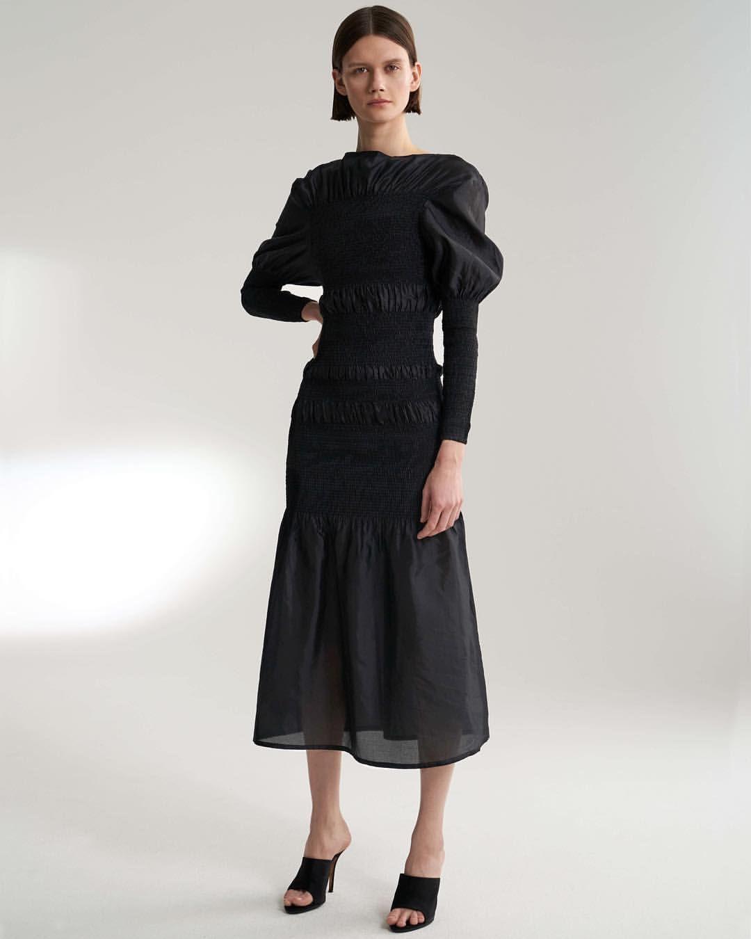 ca2d79b68c5 Cold Shoulder Dress, High Neck Dress, Korean Fashion, Street Style, Chic,