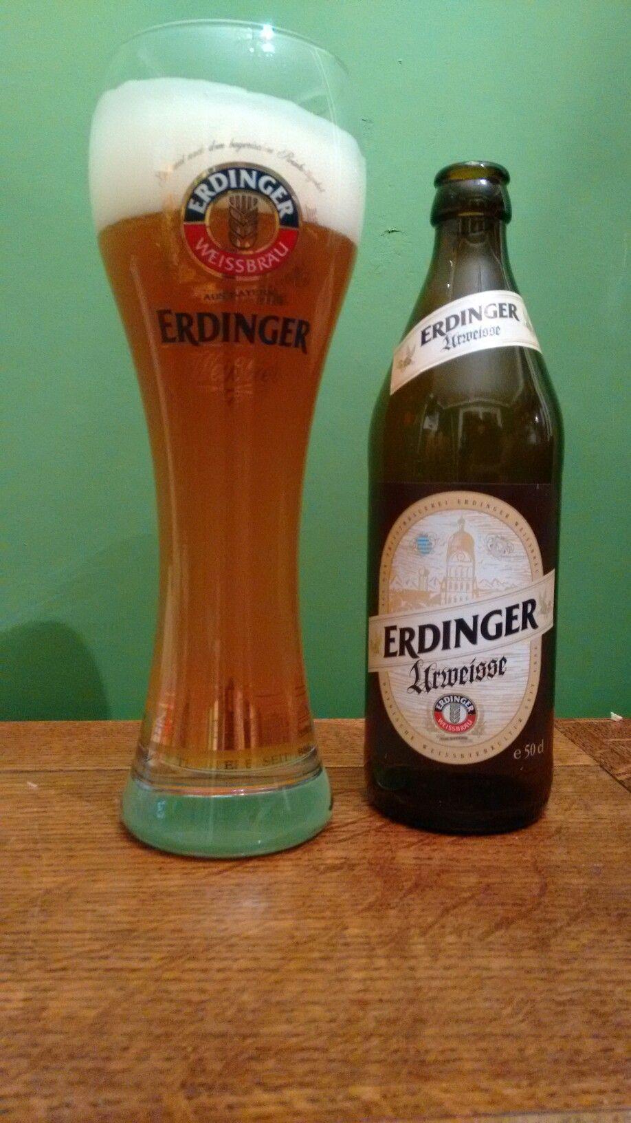Erdinger Urweisse from Erdinger Weissbrau in Germany. Very ...