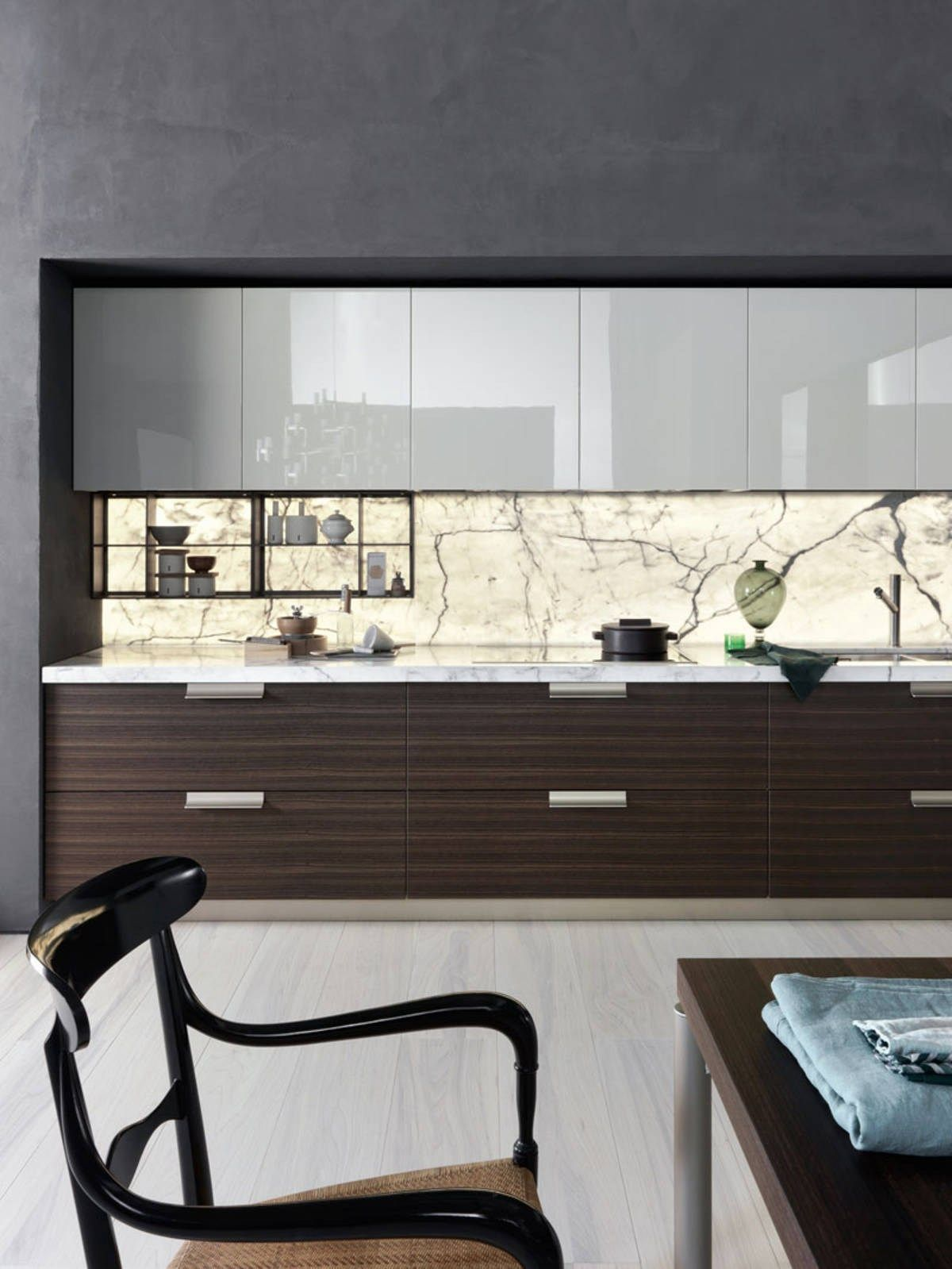 Modular Fitted Kitchen Indada By Dada Design Nicola Gallizia  # Muebles Y Cocinas Daxa