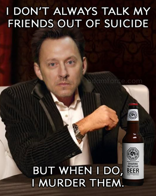 Adam Force I Think I Might Just Keep This Thing Going Ben Linus Needs Some Quality Memes Most Interesting Linus Lost Memes Lost Tv Show Lost Quotes