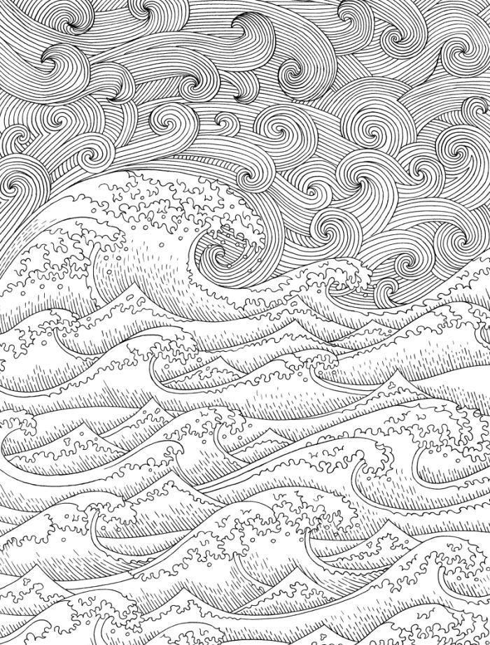 Pin de özgür öztürk en Seas of life coloring pages | Pinterest ...