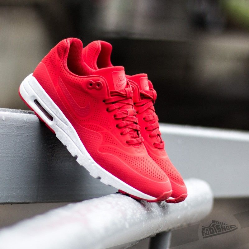 Air Max Ultra Moire Université Rouge