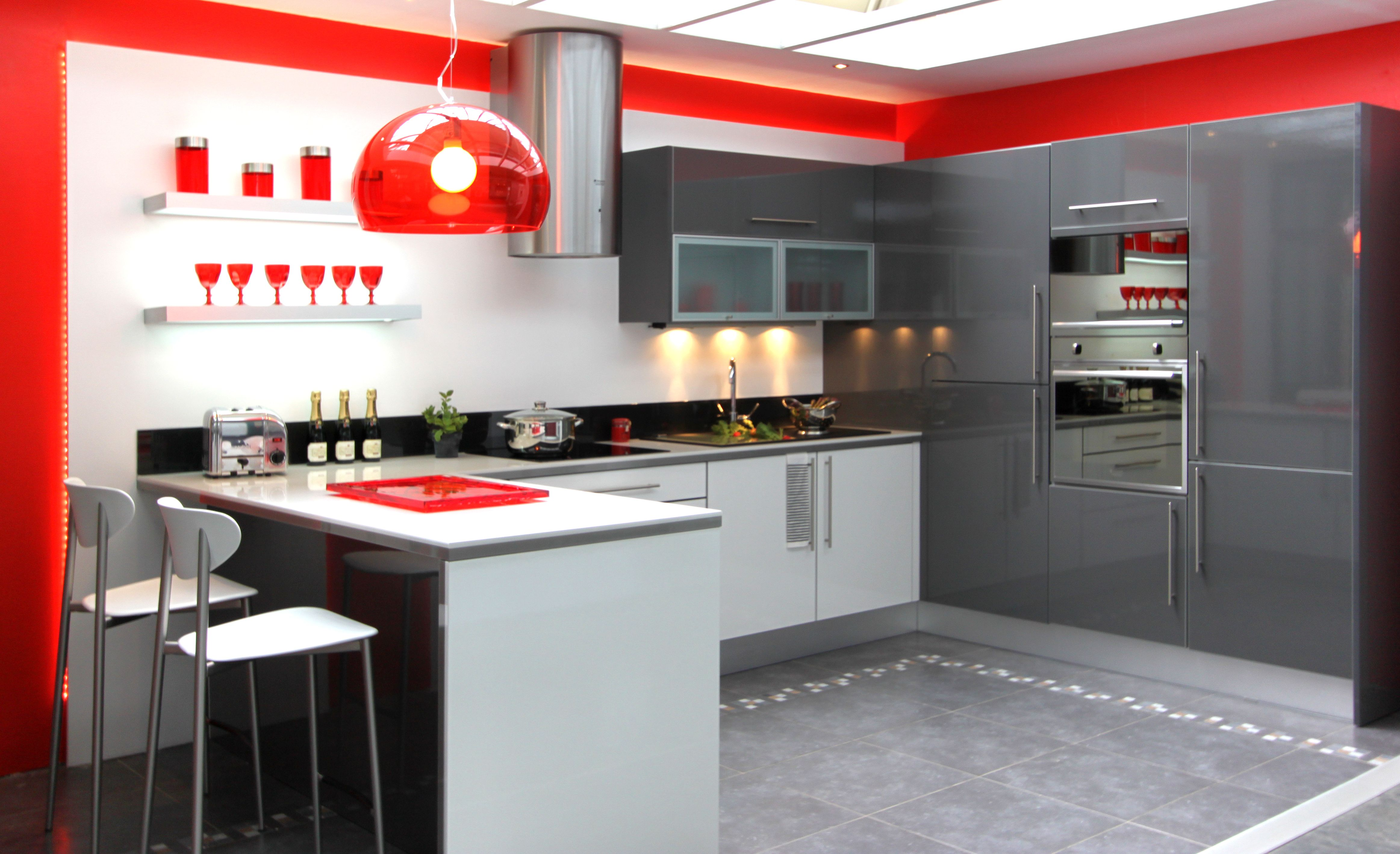Etagere murale cuisine fly couleur de cuisine grenoble for Cuisine fly
