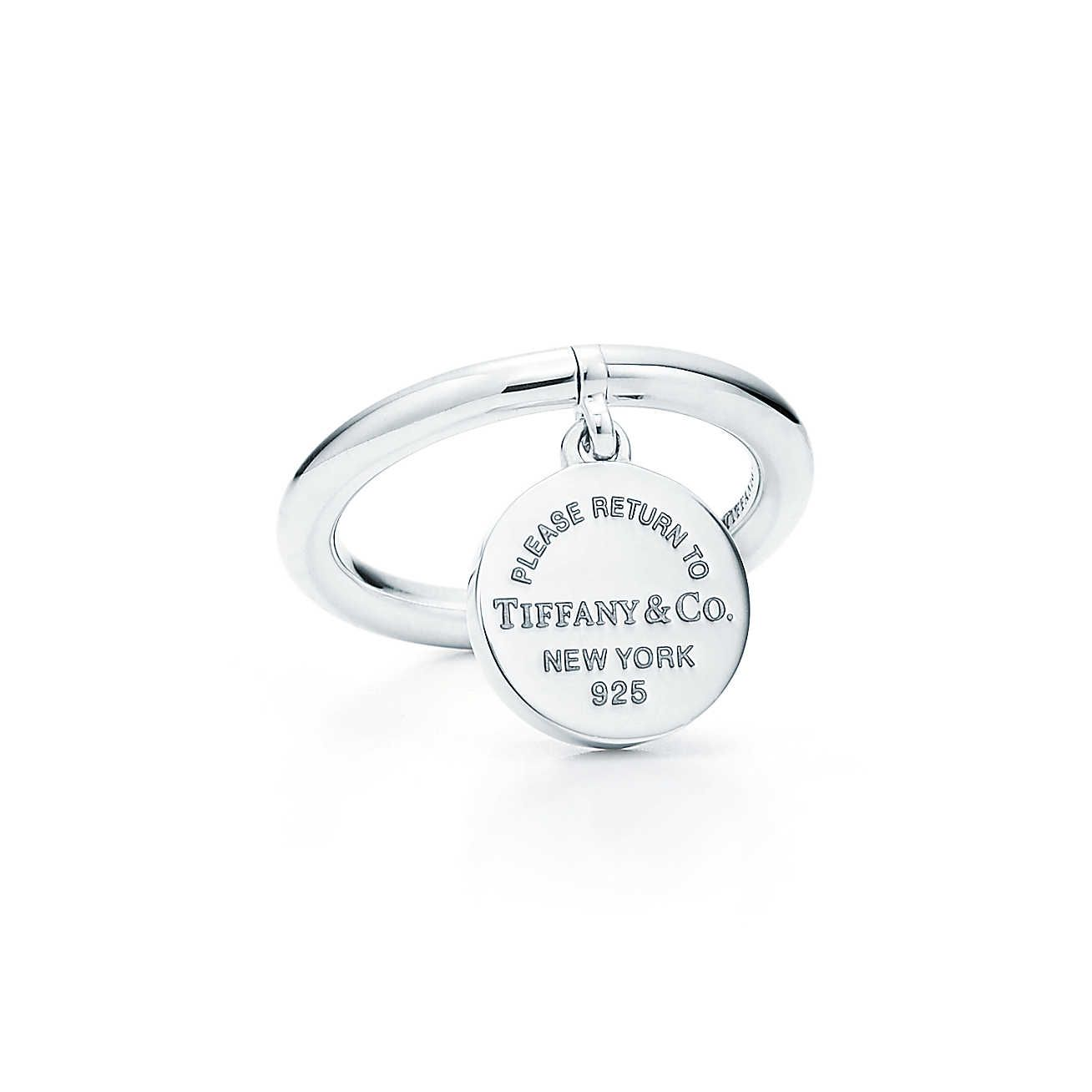 Return To Tiffany Round Tag Ring Tiffany And Co Jewelry Tiffany Jewelry Tiffany Rings