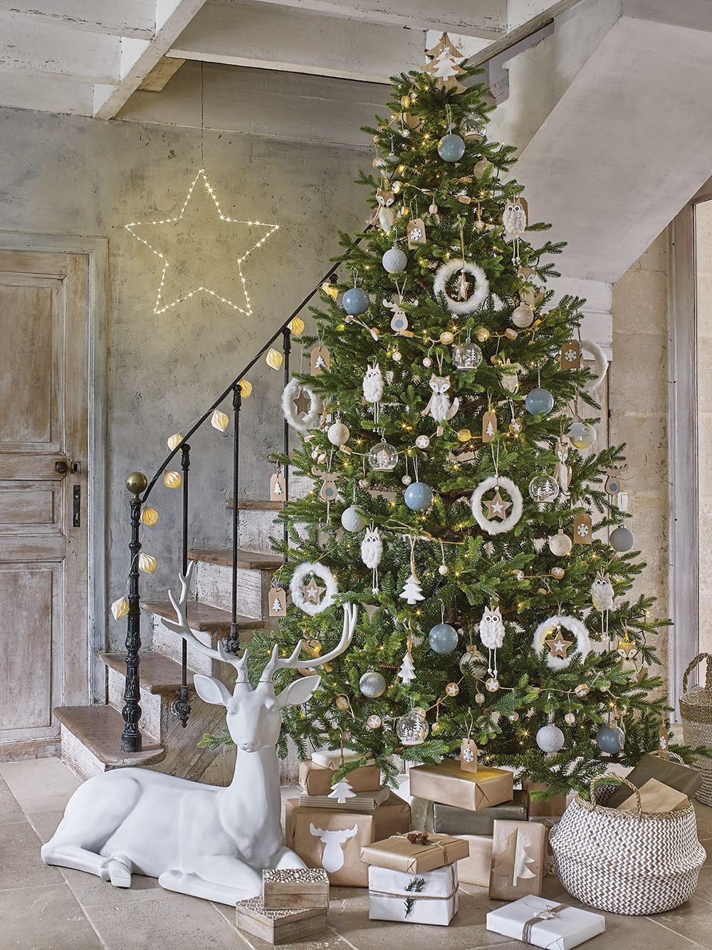 Sapin de Noël Maisons du Monde | Decoration noel, Maison de noel