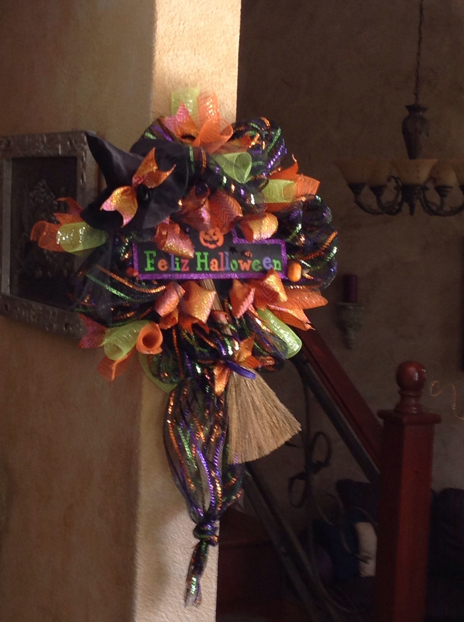 Corona de halloween $ 480