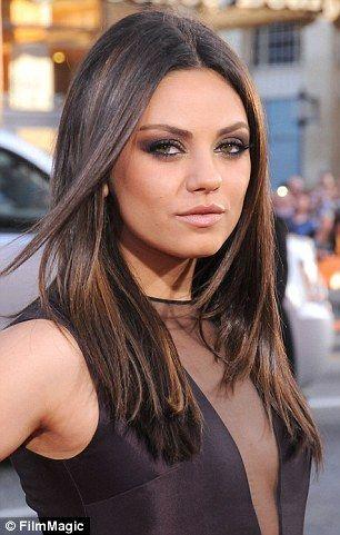 Men Say Their Dream Lady Has Mila Kunis Dark Brown Hair
