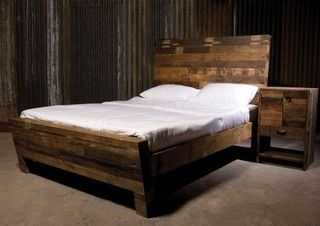 angora reclaimed wood platform bed frame is elegant refined and reclaimed our platform beds are handmade from reclaimed solid old phone poles