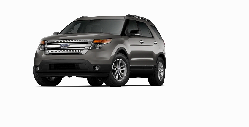 New 2014 Ford Explorer XLT (Gray SUV) Charleston Ford