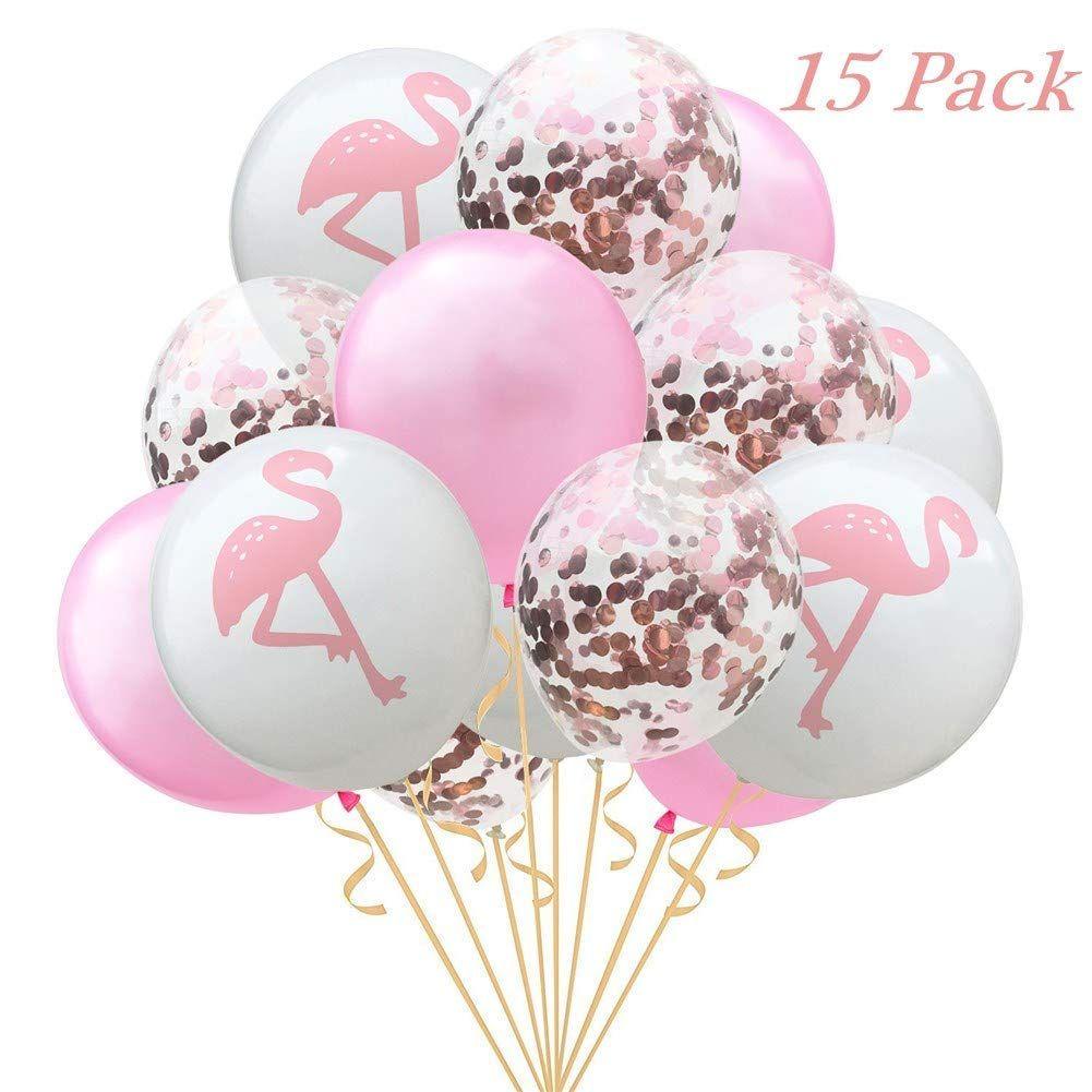 Flamingo Luftballons Perfekt Als Deko Fur Den Geburtstag