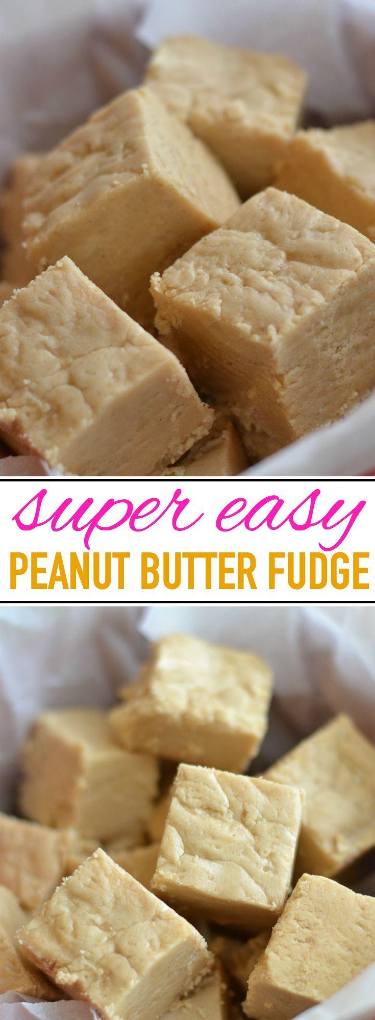 Amazingly Easy Peanut Butter Fudge