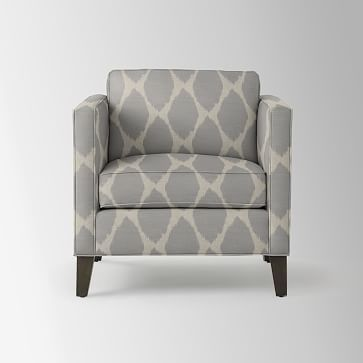 Dunham Down-Filled Armchair - Boxed (Prints) #westelm ...