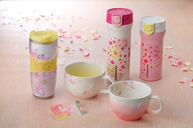 【今日発売】スタバの桜シリーズは、限定マグやタンブラーも毎年人気だそう http://www.fashionsnap.com/news/2015-02-02/starbucks-sakura/…