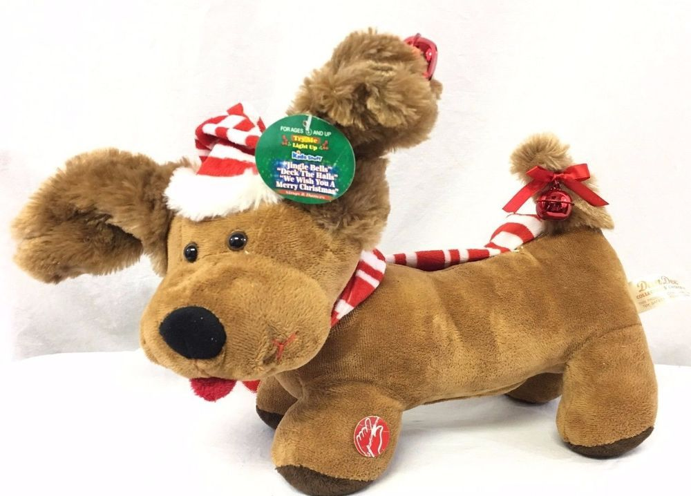 Dan Dee Collectors Choice Dachshund Dog Christmas Jingle Bells