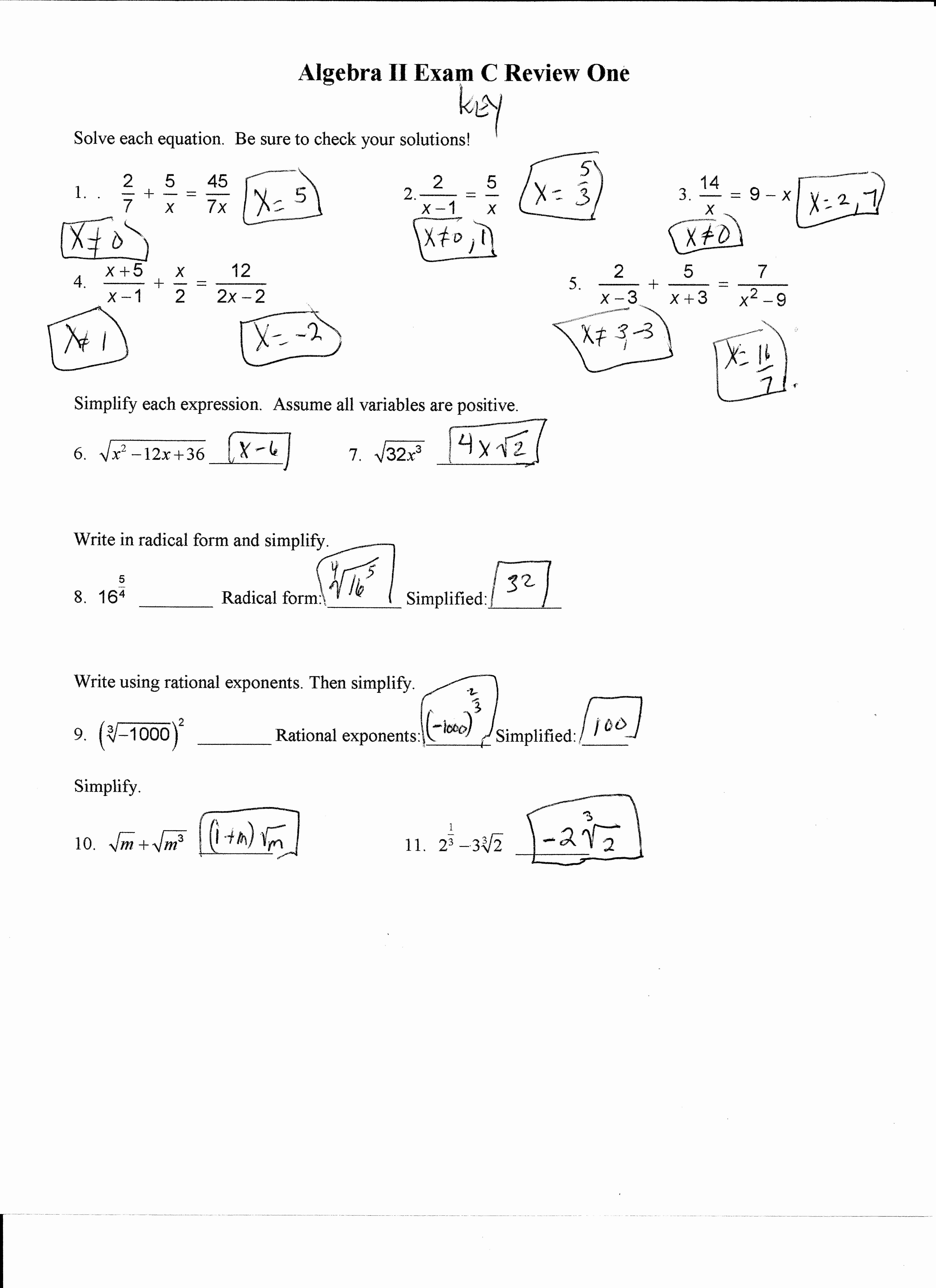 Literal Equations Worksheet Answer Key Best Of Literal