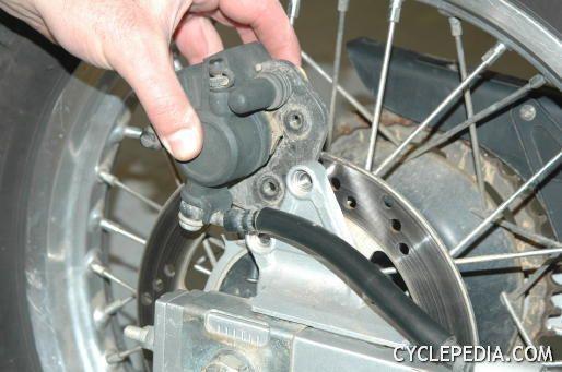 Kawasaki Klr650 Rear Brake Removal Kawasaki Klr 650 Motorcycle