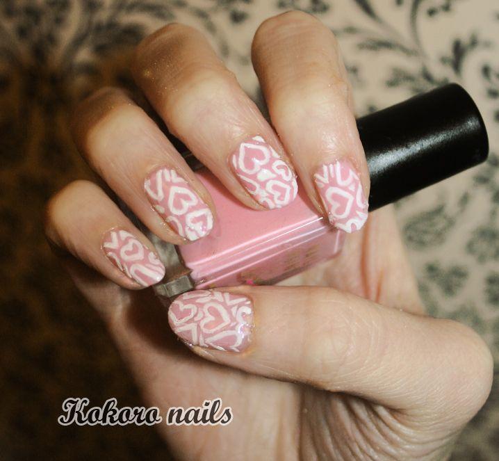 kokoro nails: VALENTINE\'S DAY NAIL ART   N A I L S   Pinterest ...