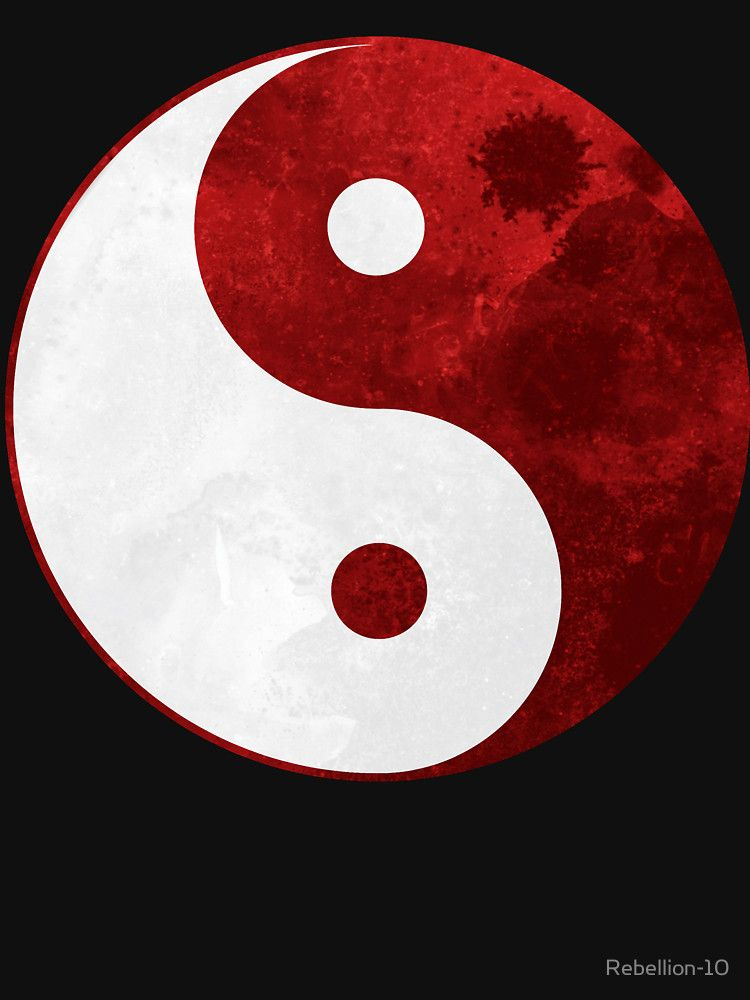 Red Yin Yang Symbol Hoodie Zipper By Rebellion 10 In 2021 Moon Art Bad Girl Wallpaper Yin Yang