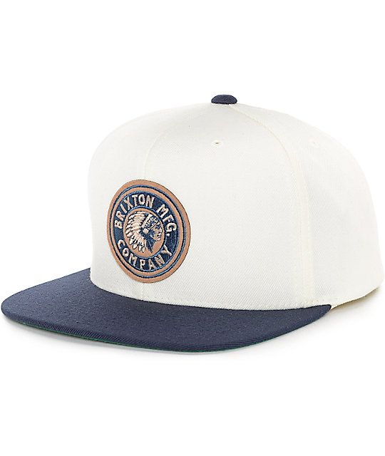 80047c6d Add a touch of Brixton styling to your dome with the Rival snapback hat in  off