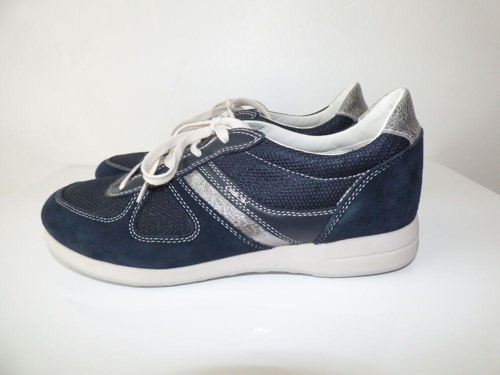 bottes de femme bleue geox
